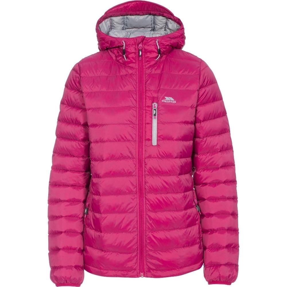 Trespass Womens/ladies Arabel Ultra Lightweight Packable Down Jacket M- Uk 12  Bust 36 (91.4cm)