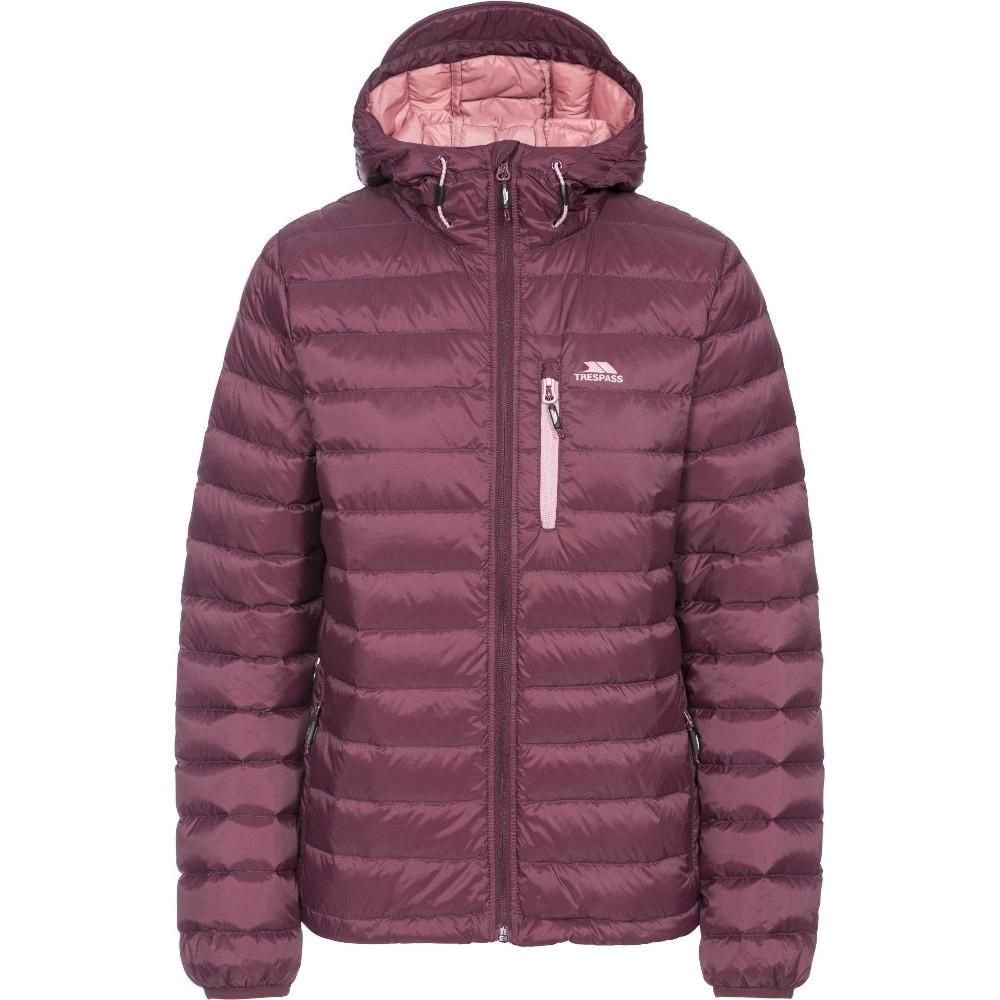 Trespass Womens/ladies Arabel Ultra Lightweight Packable Down Jacket Xs- Uk 8  Bust 32 (81cm)