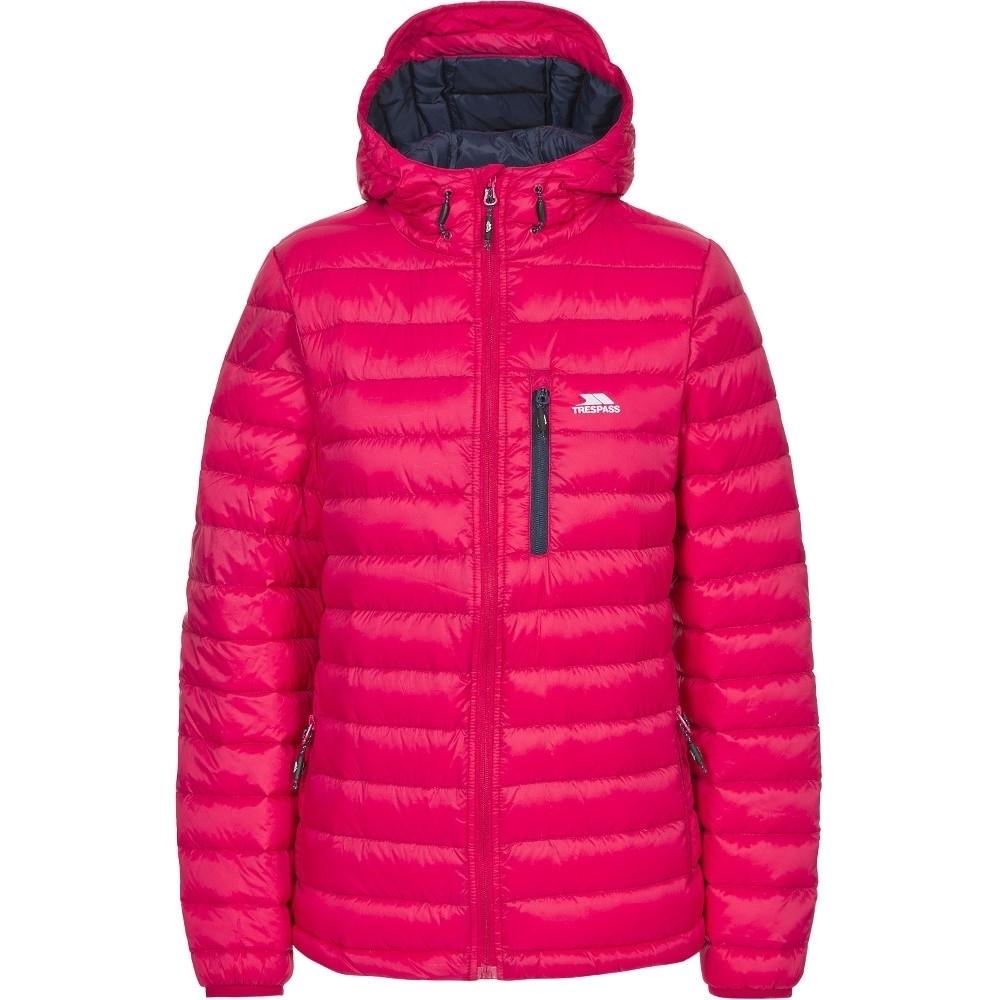 Trespass Womens/ladies Arabel Ultra Lightweight Packable Down Jacket S - Bust 34 (86cm)