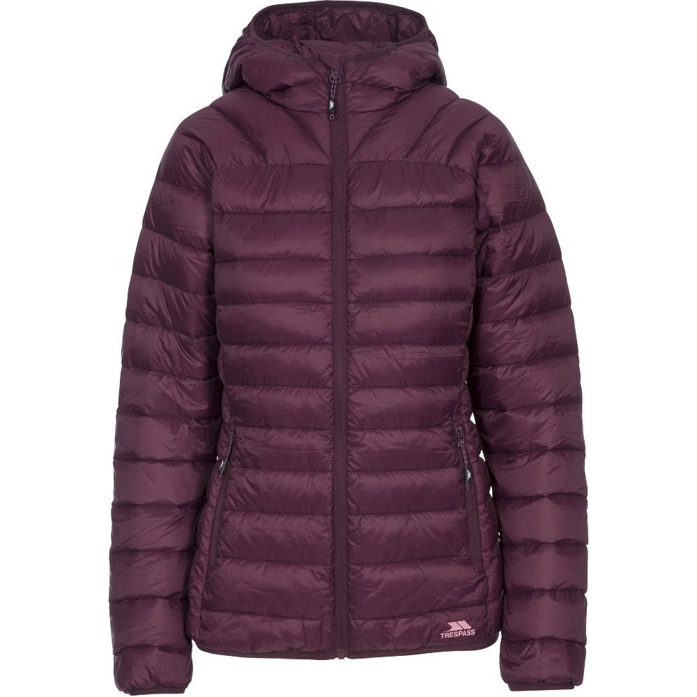 Trespass Womens/ladies Trisha Ultra Lightweight Packable Padded Jacket Xxs- Uk 6  Bust 31 (78cm)