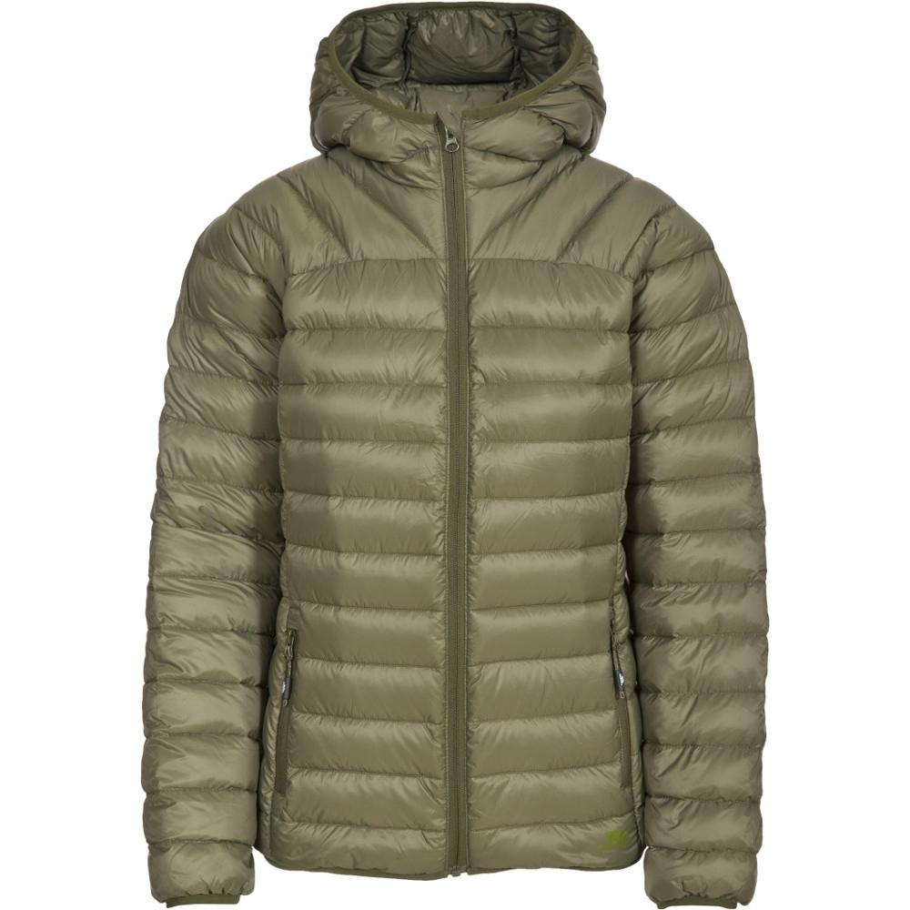 Trespass Womens/ladies Trisha Ultra Lightweight Packable Down Jacket S - Bust 34 (86cm)