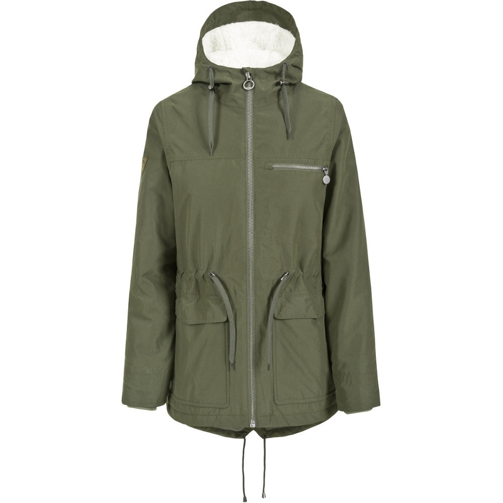 Trespass Womens/ladies Forever Waterproof Breathable Padded Jacket S - Bust 34 (86cm)