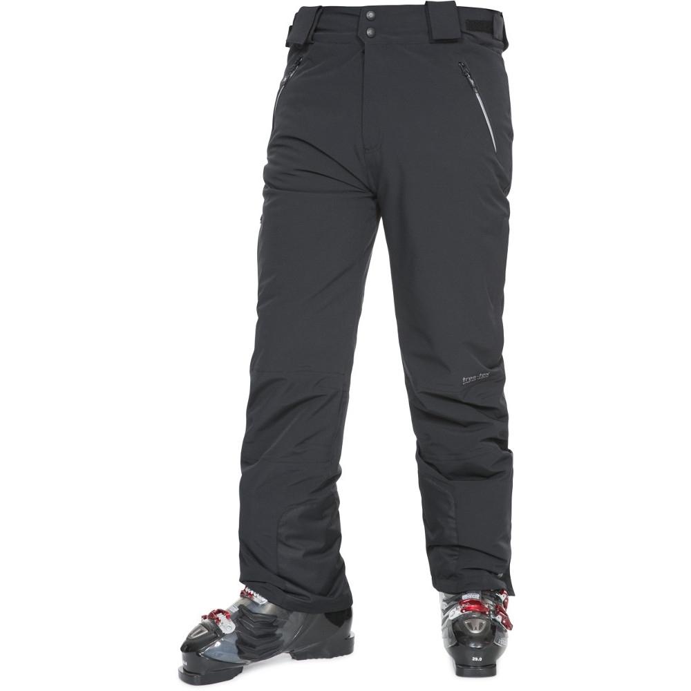 Trespass Mens Pitstop Waterproof Breathable Padded Ski Pants Trousers L - Waist 38 (91.5cm)  Inside Leg 31 (79cm)