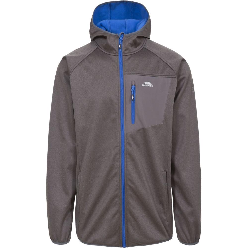 Trespass Mens Dayton Waterproof Breathable Windproof Softshell Jacket Xxl - Chest 46-48 (117-122cm)