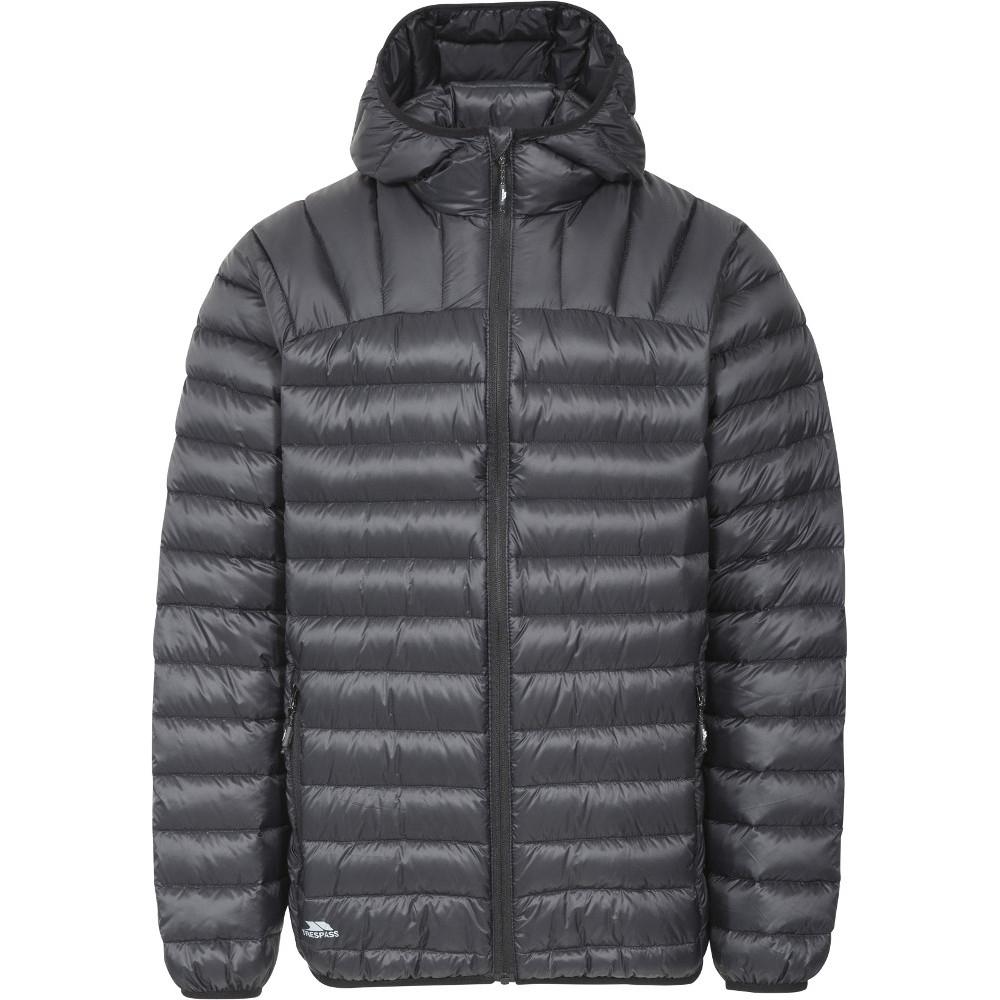 Trespass Mens Romano Ultra Lightweight Hooded Packable Down Jacket Xxs - Chest 29-31 (77-82cm)