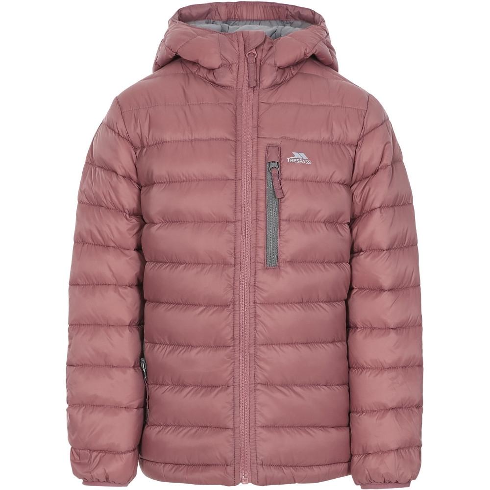 Trespass Girls Morley Ultra Lightweight Packable Down Jacket Coat 3-4 Years- Chest 22 (56cm)