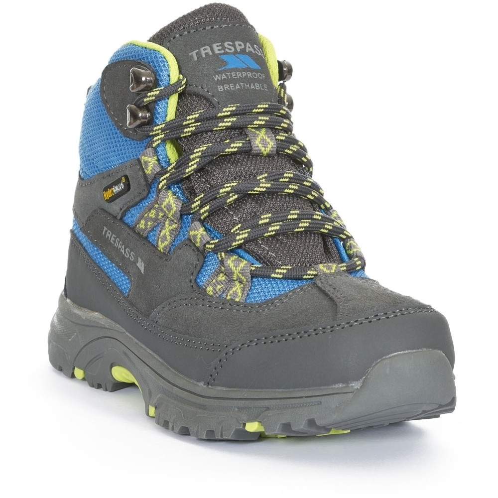 Trespass BoysandGirls Cumberbatch Waterproof Breathable Walking Boots Uk Size 2 (eu 34  Us 3)