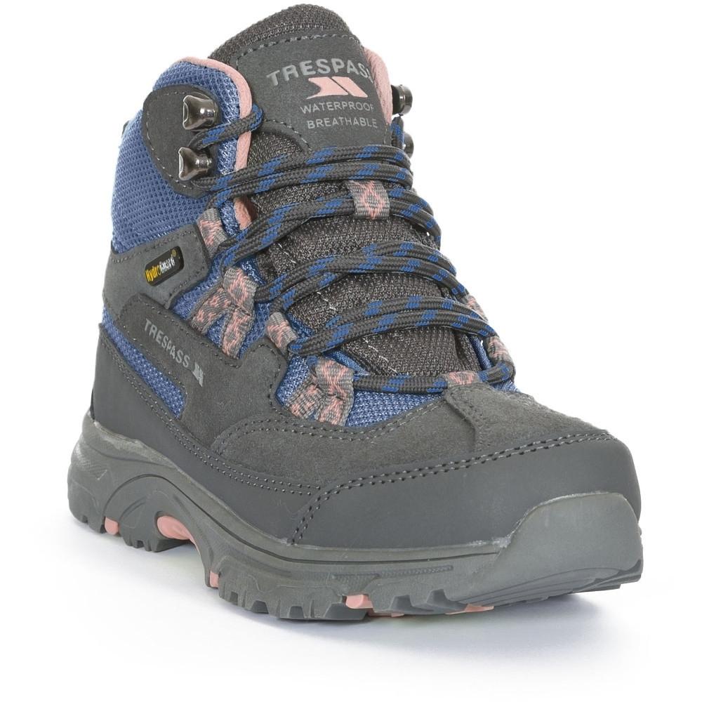Trespass BoysandGirls Cumberbatch Waterproof Breathable Walking Boots Uk Size 1 (eu 33  Us 2)