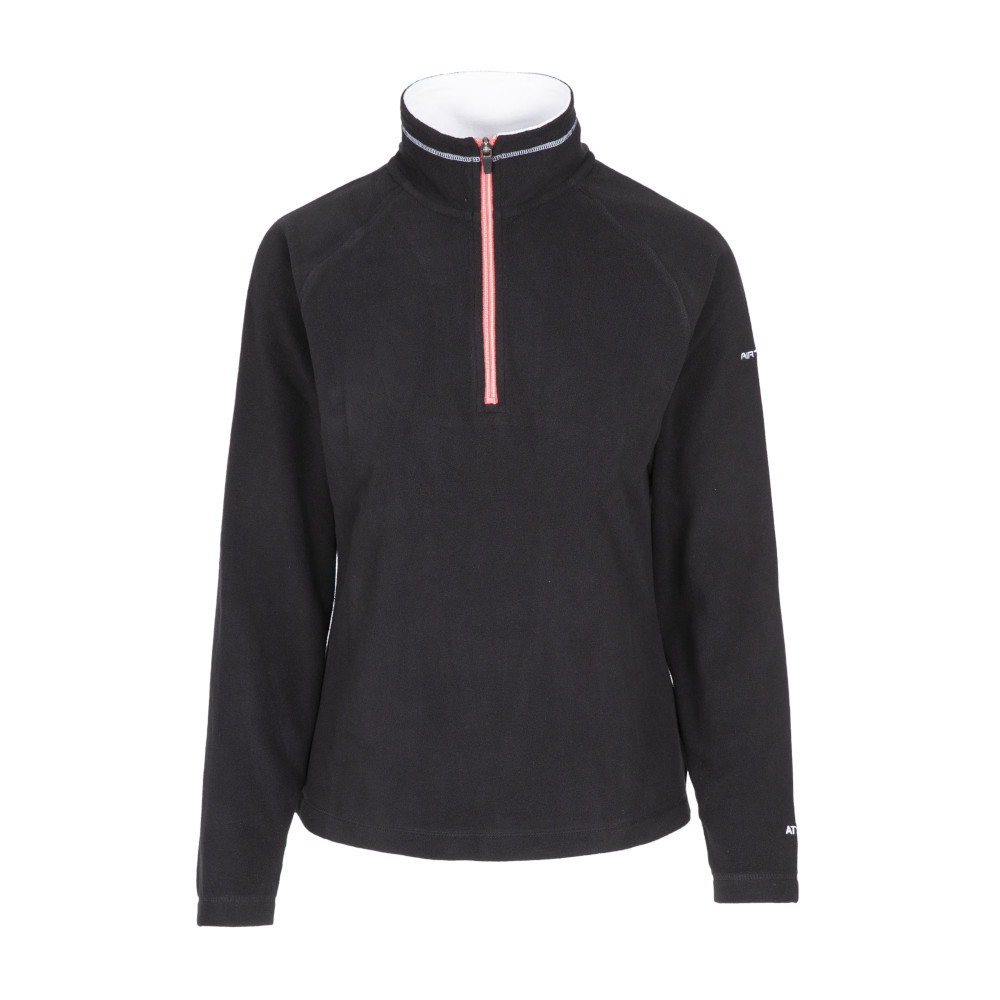 Trespass Womens/ladies Skylar Half-zip Anti-pill Micro Fleece Jacket L - Bust 38 (96.5cm)