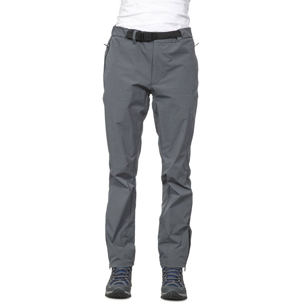 Trespass Womens/ladies Stormlight Elasticated Walking Hiking Trousers 10/s - Waist 28 (71cm)  Inside Leg 30