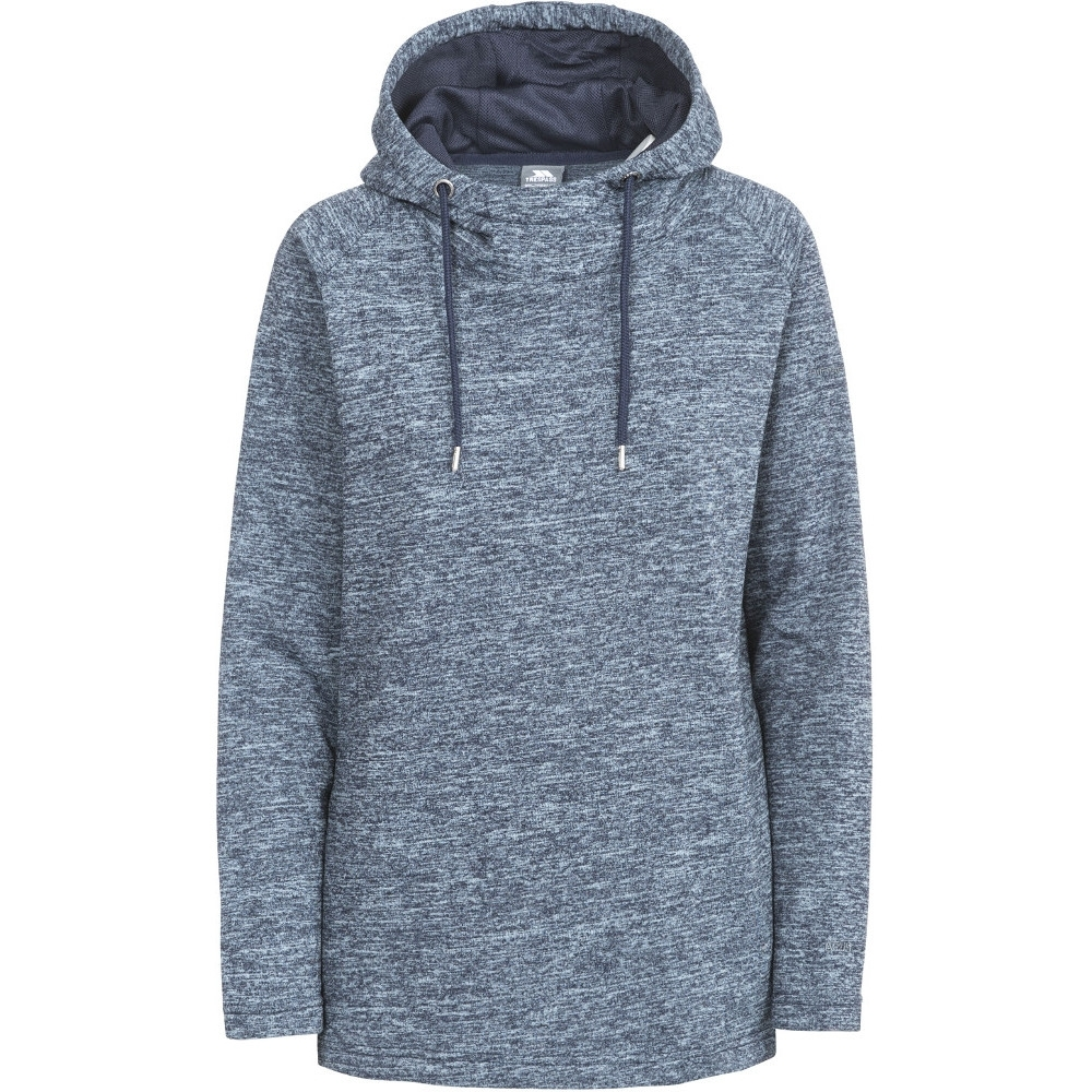 Trespass Womens/ladies Stumble Polyester Hooded Fleece Sweatshirts 10/s - Bust 34 (86cm)