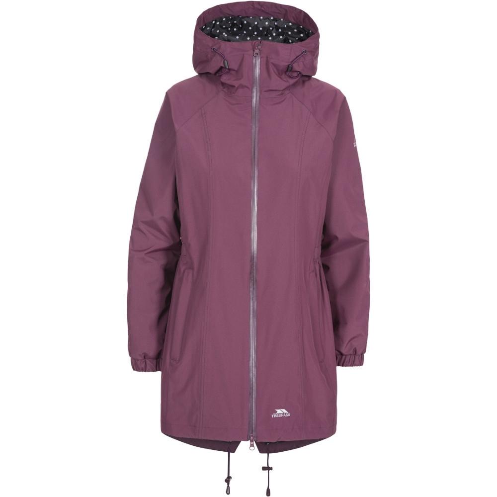 Trespass Womens/ladies Daytrip Hooded Waterproof Walking Jacket Coat 6/xxs - Bust 30 (76cm)