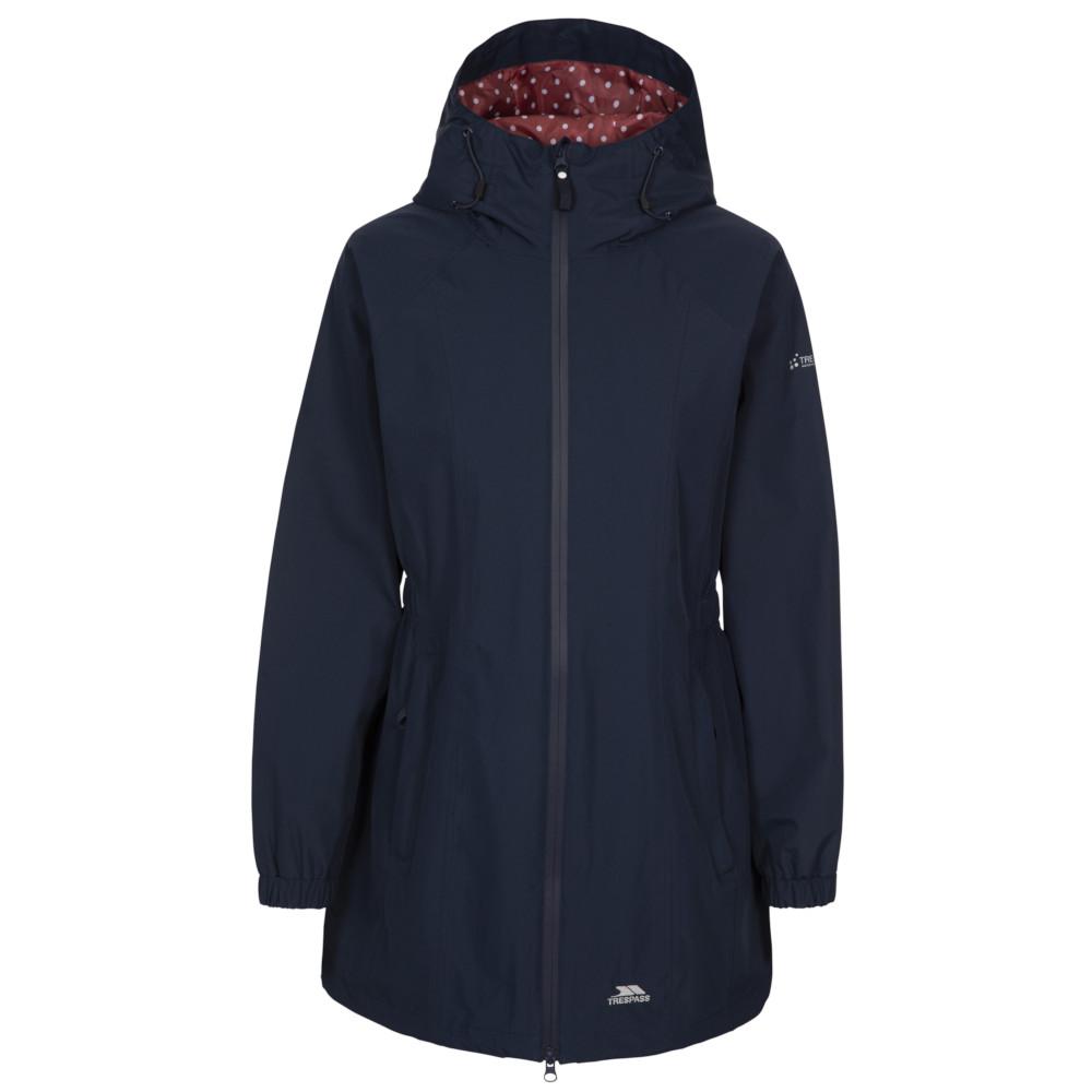 Trespass Womens/ladies Daytrip Hooded Waterproof Walking Jacket Coat 12/m - Bust 36 (91.4cm)