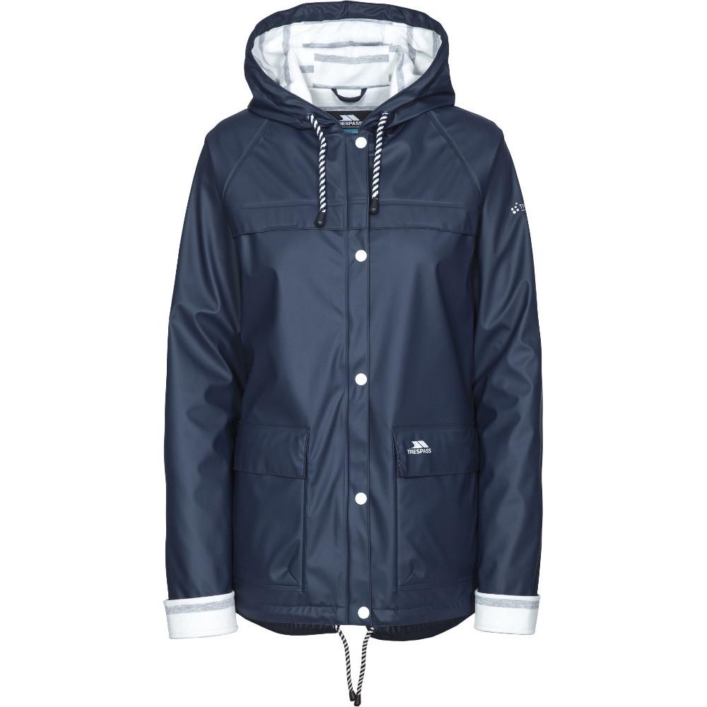 Trespass Womens/ladies Muddle Hooded Waterproof Walking Jacket Coat 16/xl - Bust 40 (101.5cm)