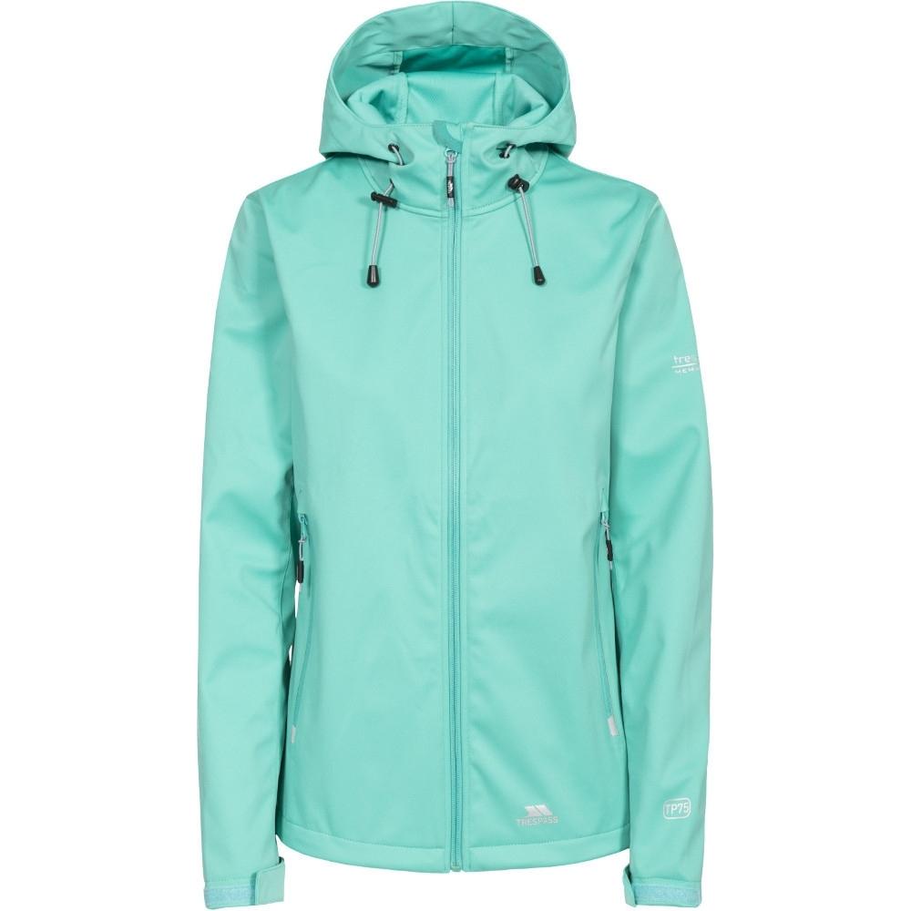 Trespass Womens/ladies Marsa Softshell Waterproof Walking Jacket 14/l - Bust 38 (96.5cm)