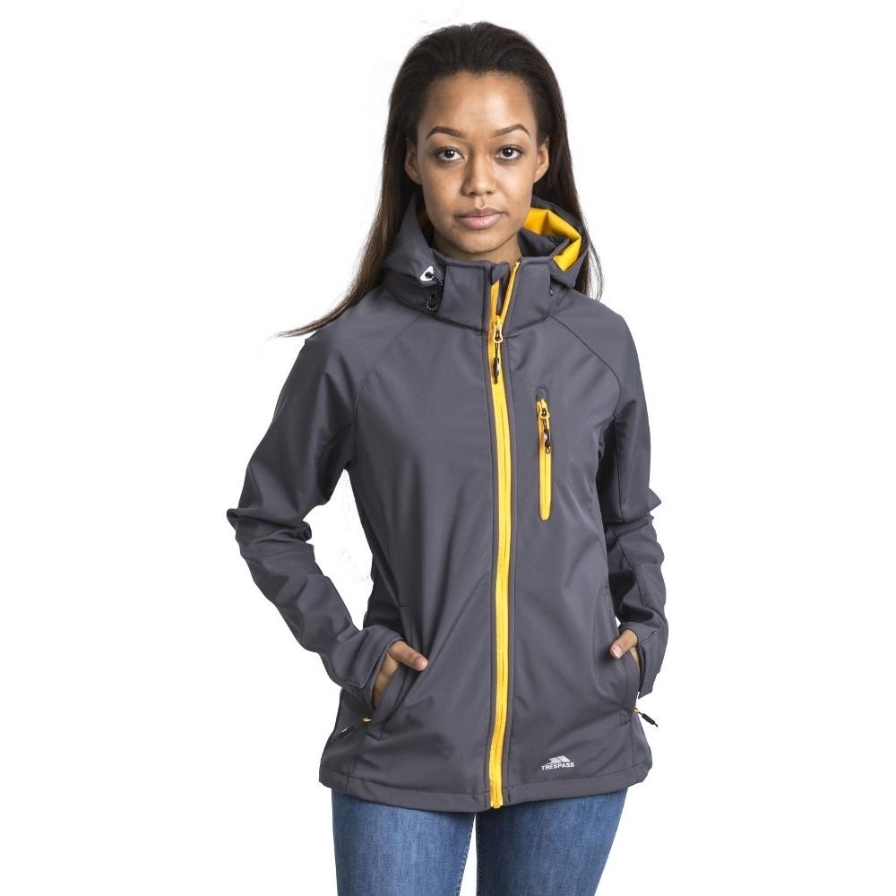 Trespass Womens/ladies Lorina Softshell Waterproof Walking Jacket 10/s - Bust 34 (86cm)