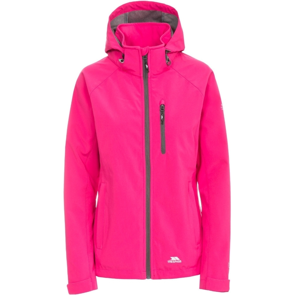 Trespass Womens/ladies Lorina Softshell Waterproof Walking Jacket 6/xxs - Bust 30 (76cm)