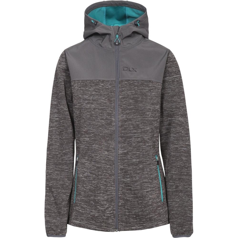 Trespass Womens/ladies Kirsti Softshell Hooded Waterproof Jacket 10/s - Bust 34 (86cm)