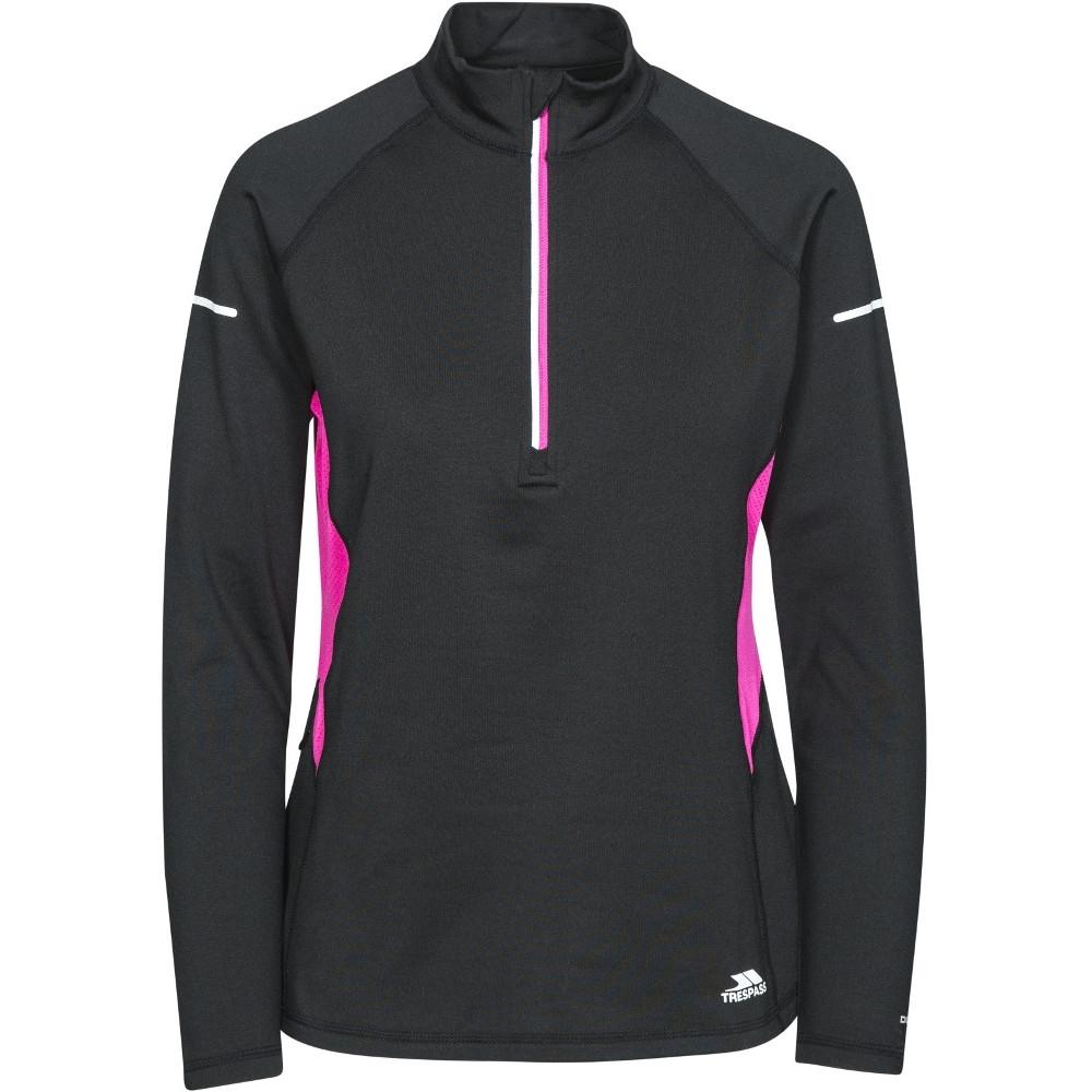 Trespass Womens/ladies Persinii Long Sleeve Fitness Running  Tops 6/xxs - Bust 30 (76cm)