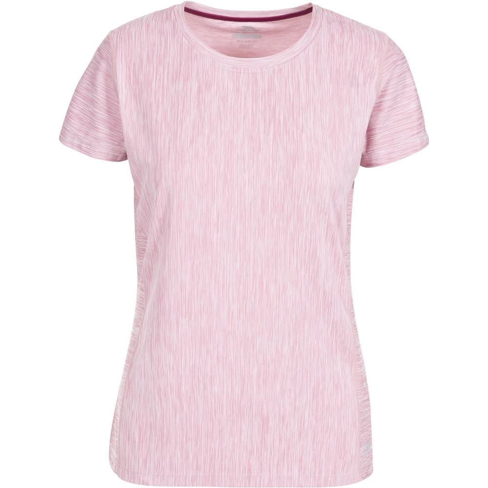 Trespass Womens/ladies Daffney Short Sleeve Fitness Wicking T-shirts 8/xs - Bust 32 (81cm)
