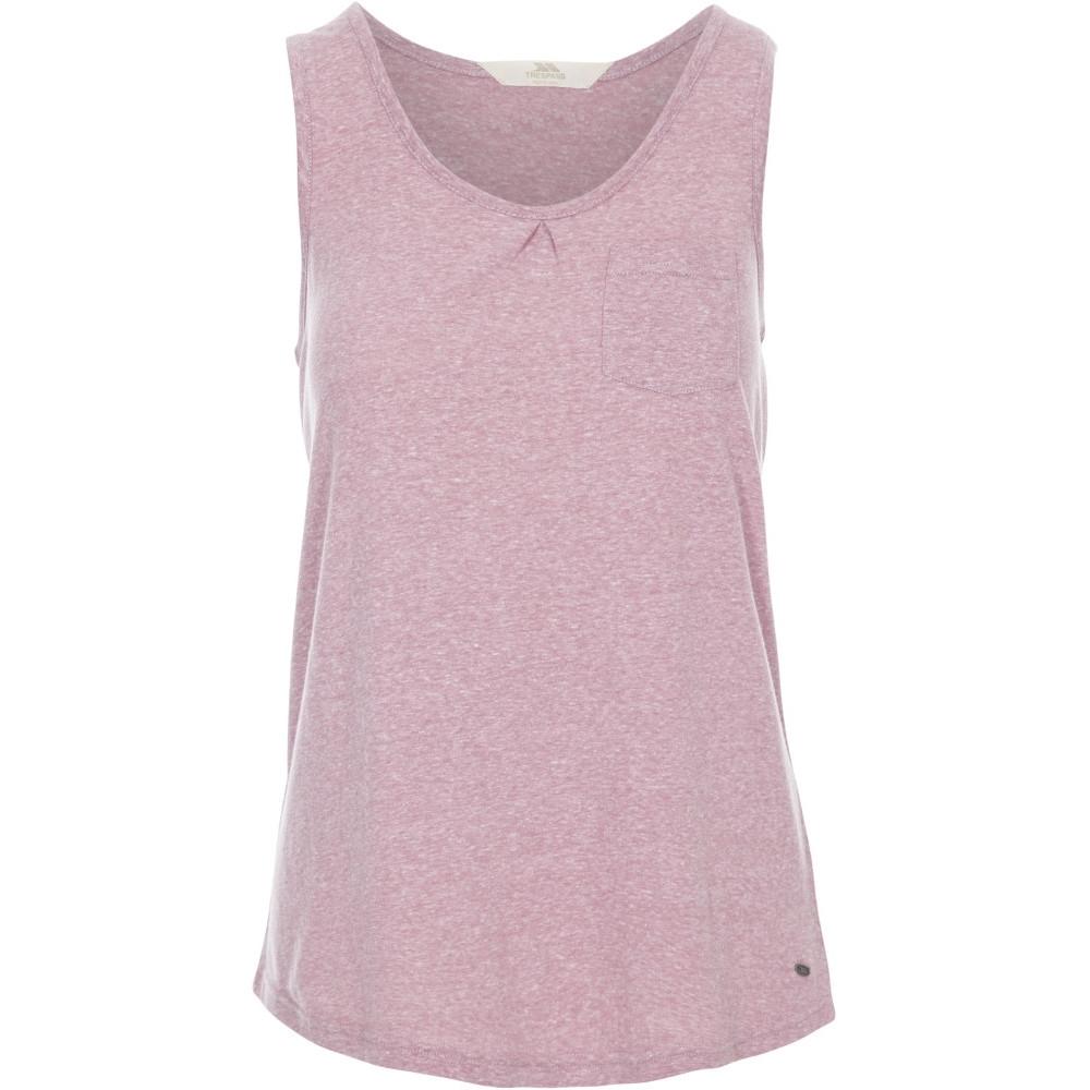 Trespass Womens/ladies Fidget Light Weight Fitness Vest Tops 12/m - Bust 36 (91.4cm)