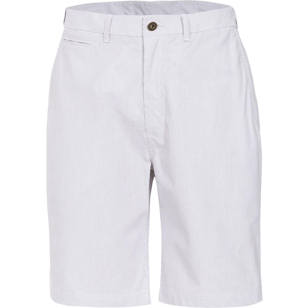 Trespass Mens Atom Woven Cotton Longer Length Striped Casual Shorts S - Waist 30-32 (76-81cm)