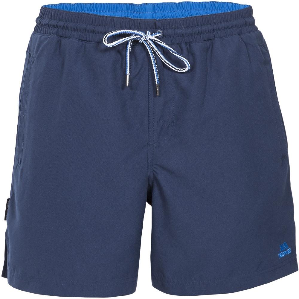 Trespass Mens Granvin Casual Summer Surf Mid Length Quick Dry Shorts Xxl - Waist 41-43 (104-109cm)