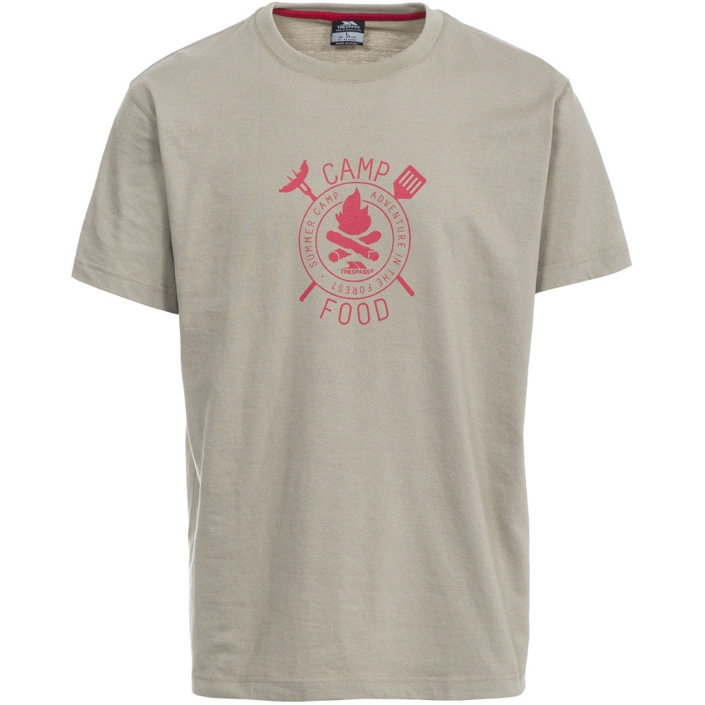 Trespass Mens Adder Short Sleeve Printed Casual Sports T-shirt Xxs - Chest 29-31 (77-82cm)