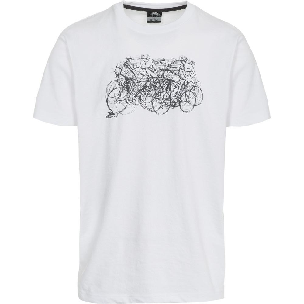 Trespass Mens Wicky Short Sleeve Printed Casual Sports T-shirt Xxs - Chest 29-31 (77-82cm)