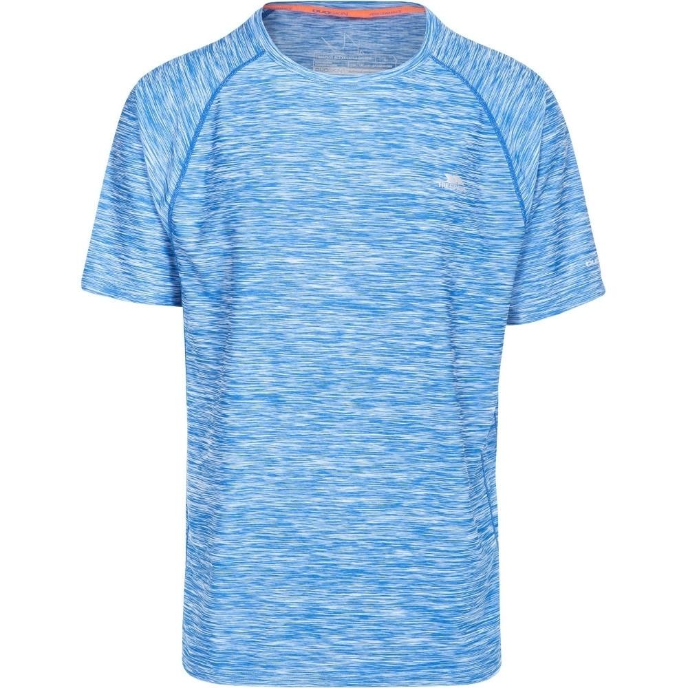 Trespass Mens Gaffney Short Sleeve Wicking Fitness Running T-shirt Xs - Chest 32-34 (83-88cm)