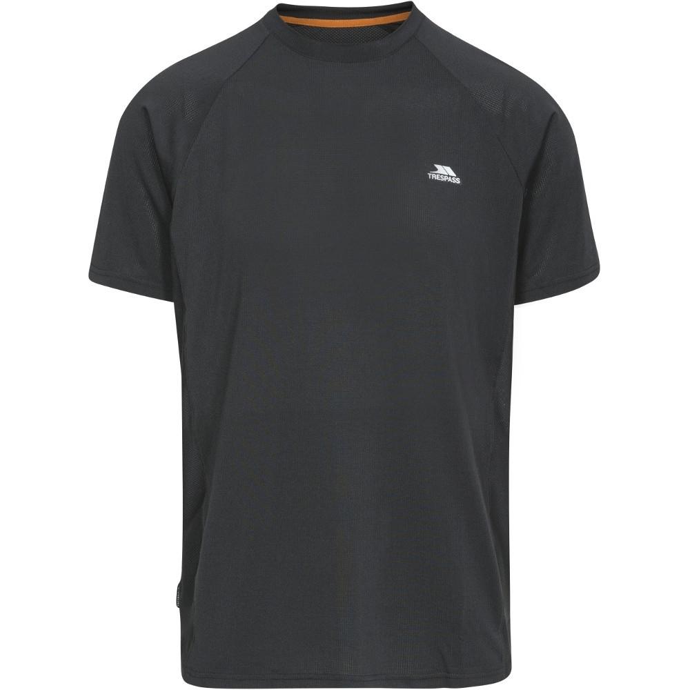 Trespass Mens Cacama Short Sleeve Wicking Fitness Running T-shirt Xxs - Chest 29-31 (77-82cm)