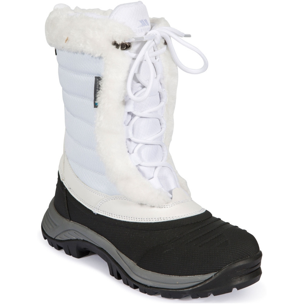 Trespass Womens/ladies Stalgmite Ii Waterproof Warm Winter Snow Boots Uk Size 4 (eu 37)
