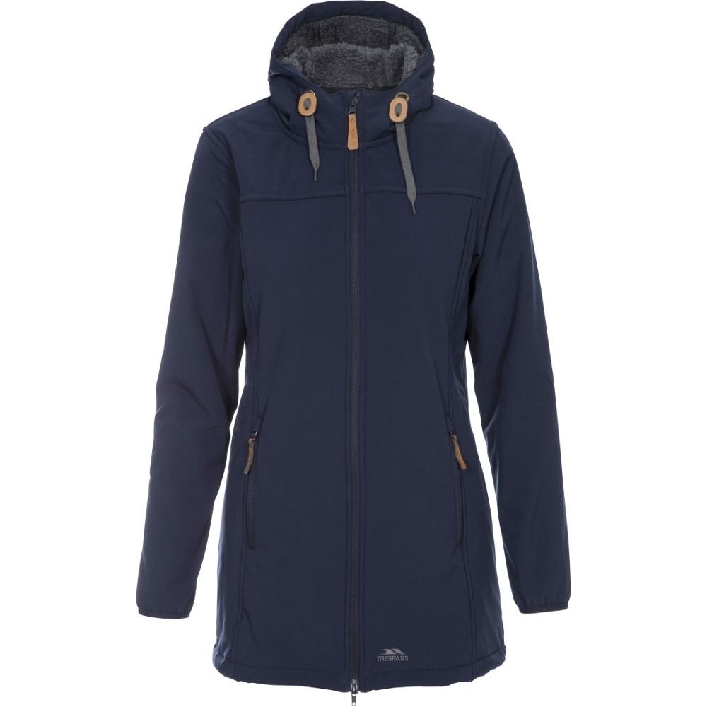 Trespass Womens/ladies Kristen Waterproof Walking Softshell Coat L- Uk 14  Bust 38 (96.5cm)
