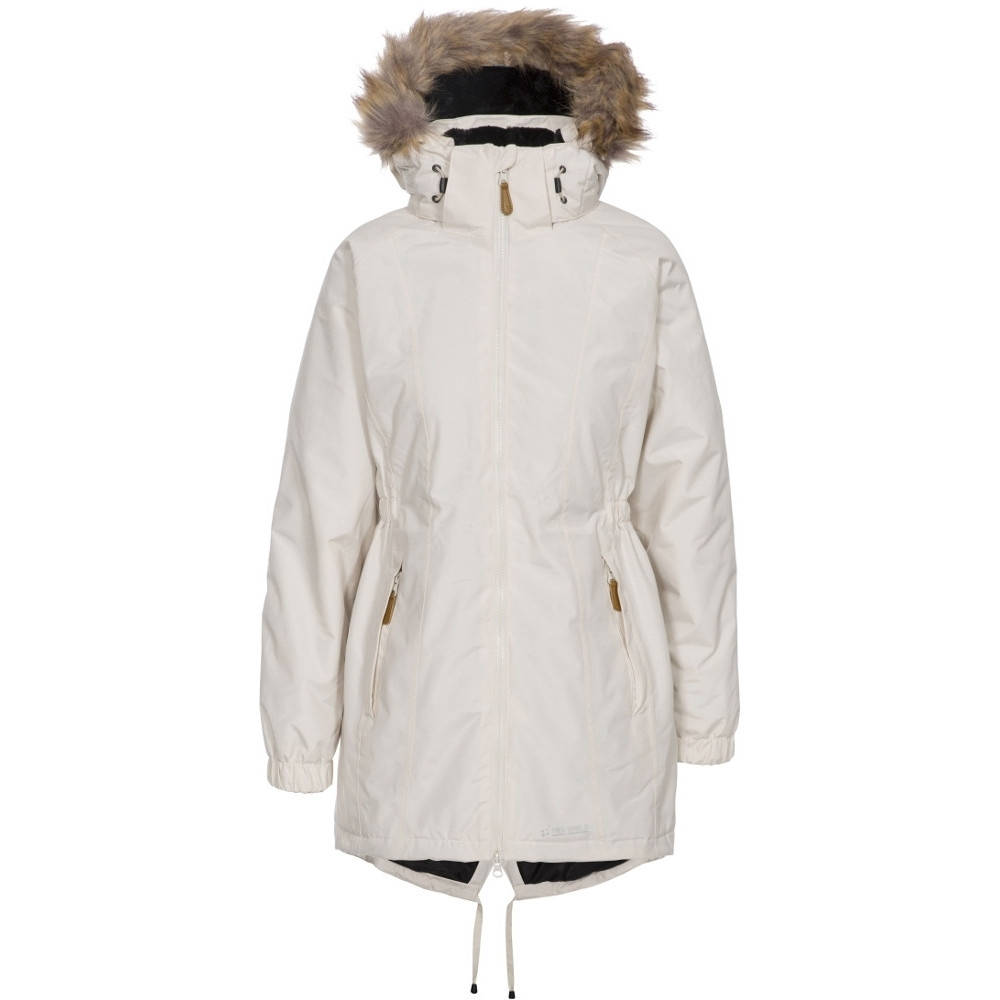 Trespass Womens/ladies Celebrity Waterproof Breathable Padded Coat L- Uk 14  Bust 38 (96.5cm)