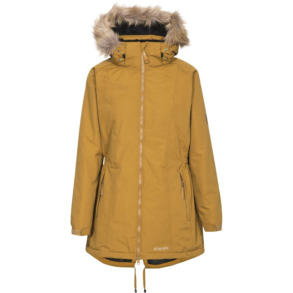 Trespass Womens/ladies Celebrity Waterproof Breathable Padded Coat 16/xl - Bust 40 (101.5cm)