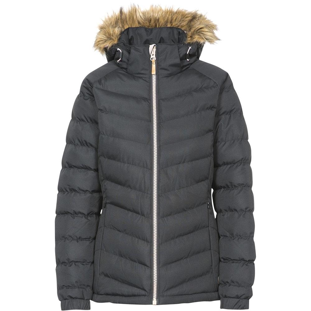 Trespass Womens/ladies Nadina Waterproof Breathable Hooded Jacket Coat 12/m - Bust 36 (91.4cm)