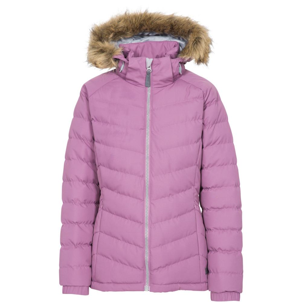 Trespass Womens/ladies Nadina Waterproof Breathable Hooded Jacket Coat 14/l - Bust 38 (96.5cm)