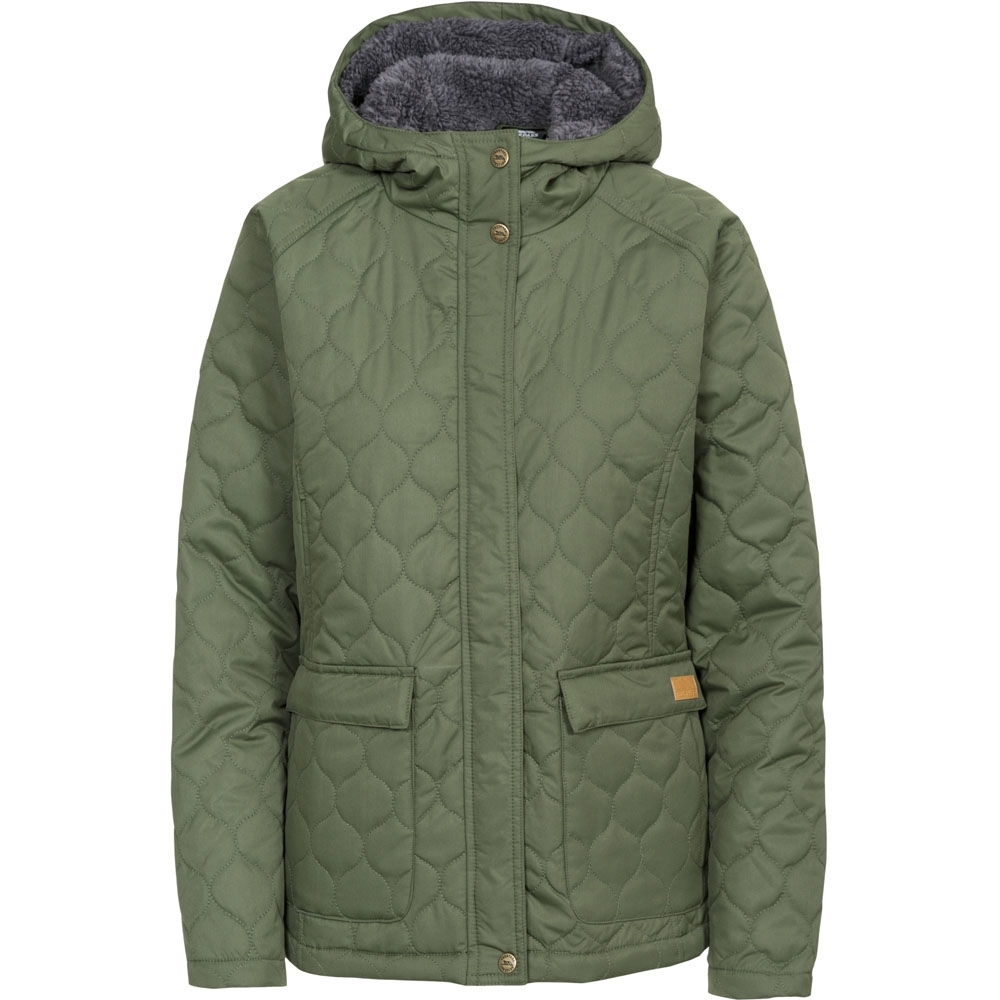 Trespass Womens/ladies Tempted Padded Insulated Hooded Jacket Coat 18/xxl - Bust 42 (106.5cm)