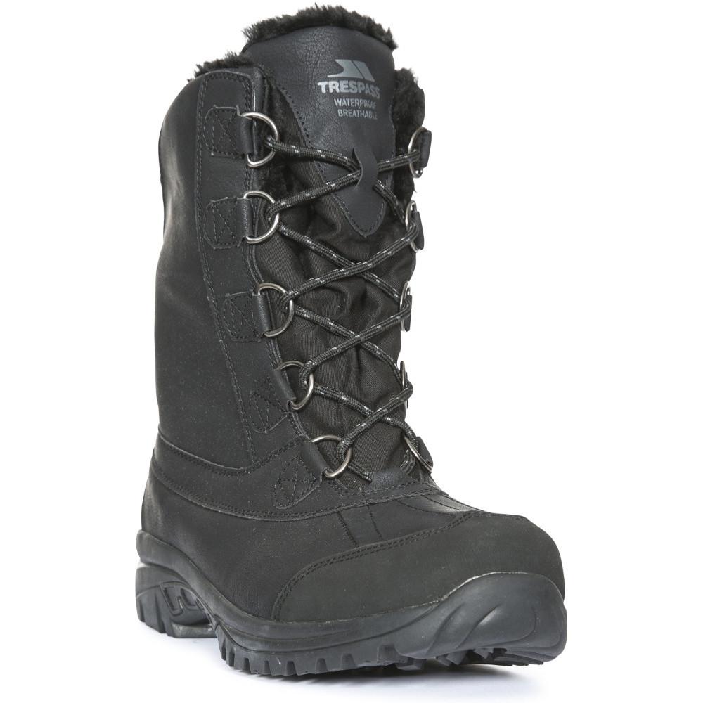 Trespass Mens Kareem Waterproof Winter Snow Boots Uk Size 8 (eu 42)
