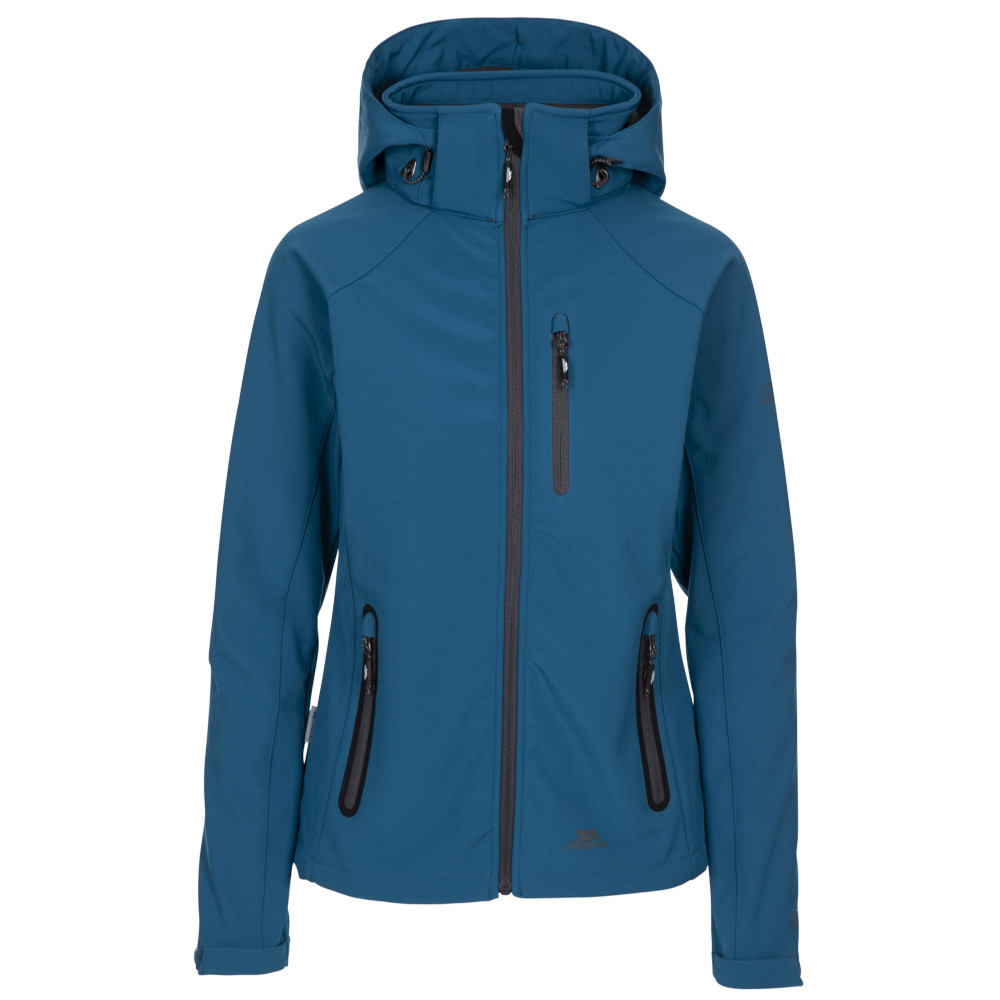 Trespass Womens/ladies Bela Ii Waterproof Breathable Softshell Coat Xxl- Uk 18  Bust 42 (106.5cm)