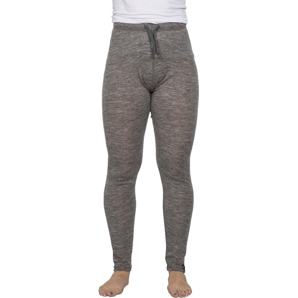 Image of Trespass Womens/Ladies Chara Merino Wool Wicking Base Layer Trousers 10/S - Waist 28' (71cm)
