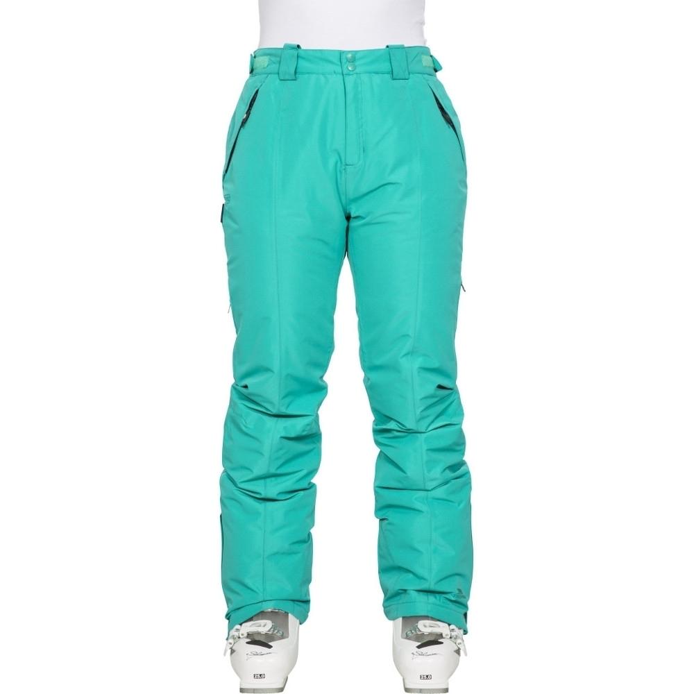 Trespass Womens/ladies Tullow Waterproof Windproof Skiing Trousers 16/xl - Waist 34 (86cm)