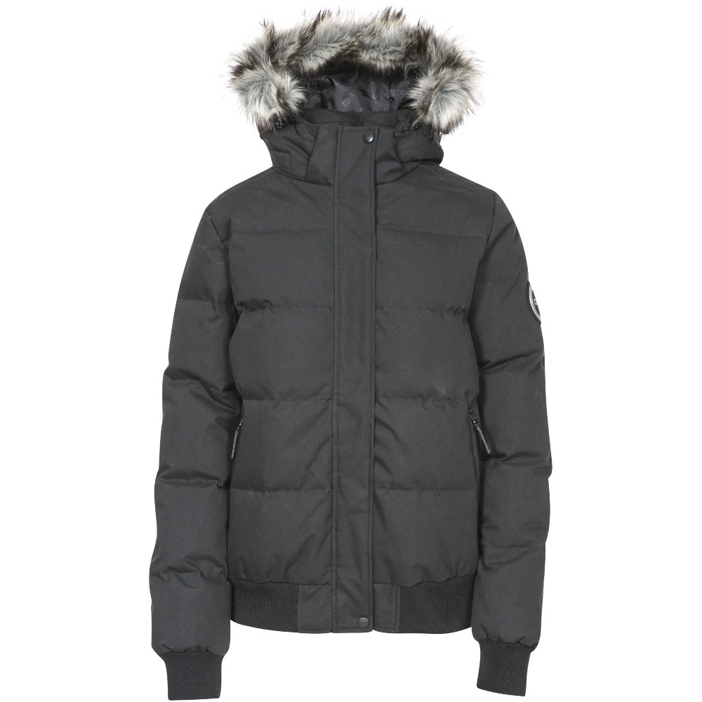 Trespass Womens/ladies Kendrick Waterproof Breathable Padded Down Coat 14/l - Bust 38 (96.5cm)