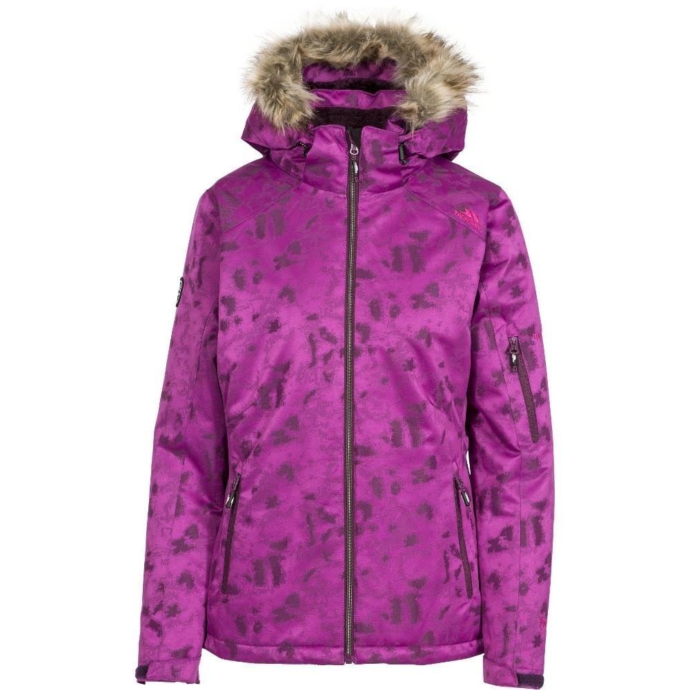 Trespass Womens/ladies Merrion Waterproof Breathable Hooded Ski Coat 10/s - Bust 34 (86cm)