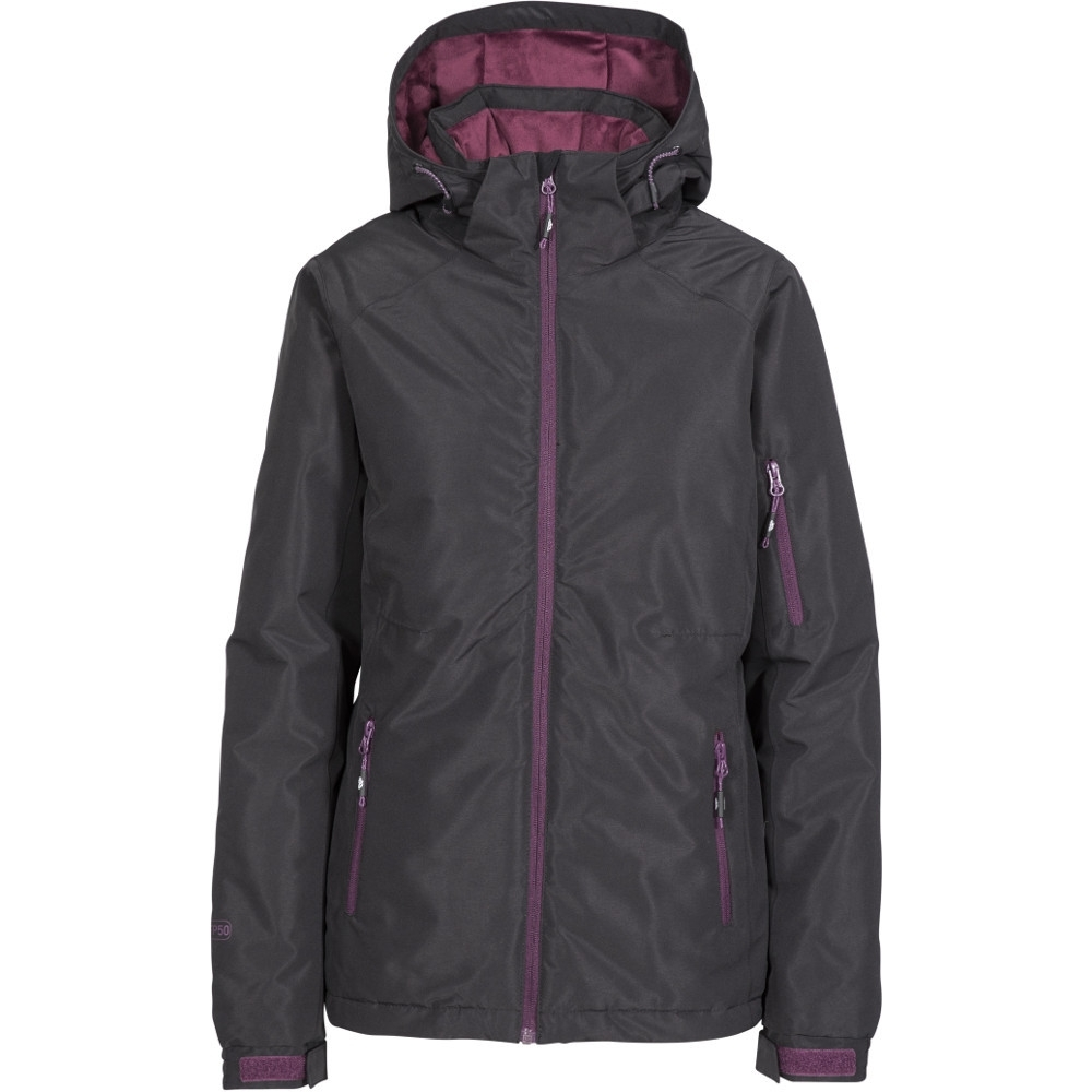 Trespass Womens/ladies Sheelin Waterproof Windproof Hooded Skiing Coat 8/xs - Bust 32 (81cm)