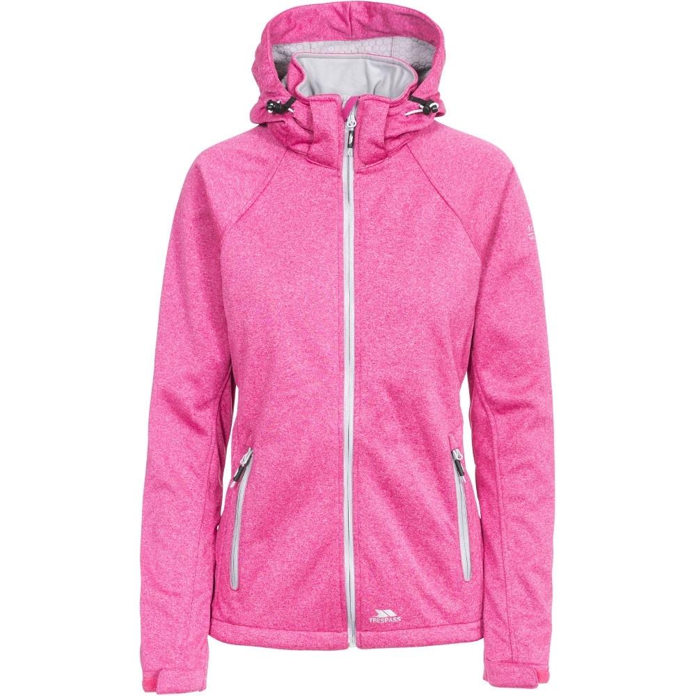 Trespass Womens/ladies Angela Waterproof Breathable Hooded Hiking Coat 12/m - Bust 36 (91.4cm)