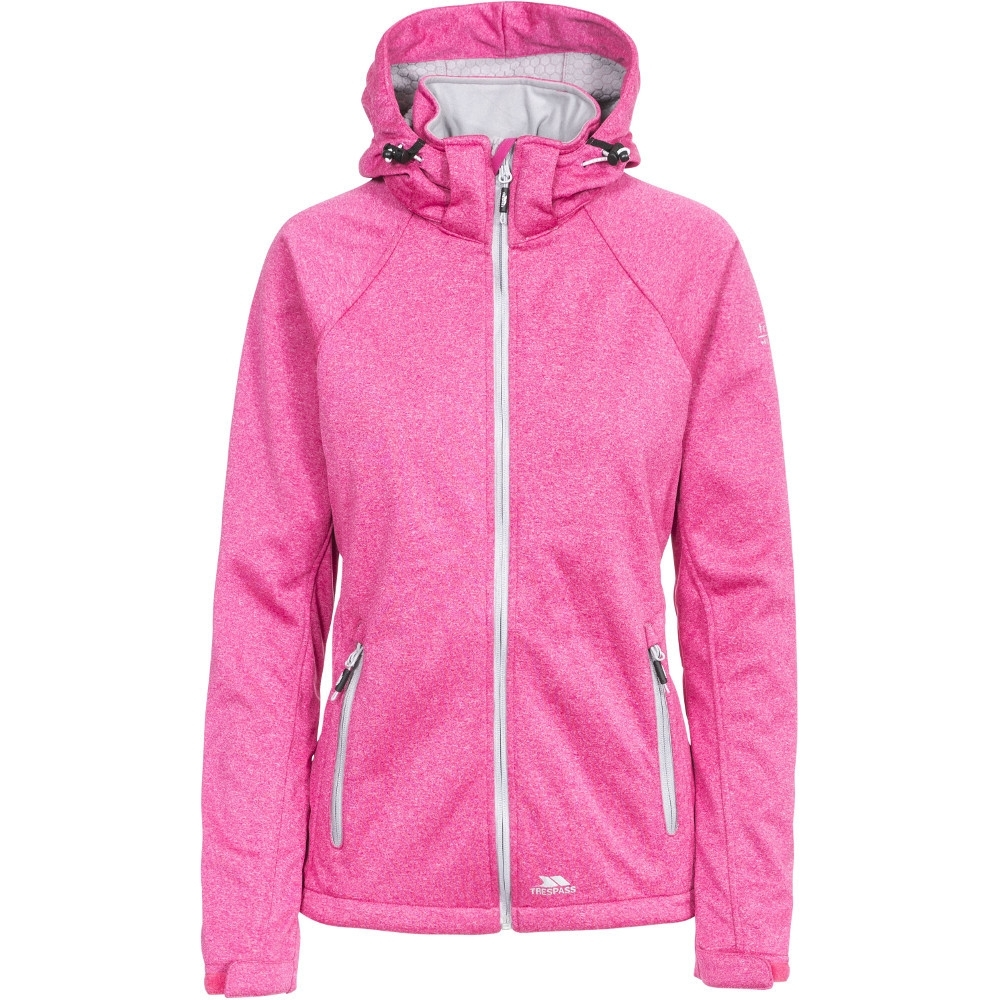 Trespass Womens/ladies Angela Waterproof Breathable Hooded Hiking Coat 6/xxs - Bust 30 (76cm)