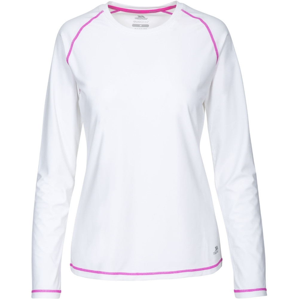 Trespass Womens/ladies Hasting Quick Dry Wicking Long Sleeve Top 6/xxs - Bust 30 (76cm)