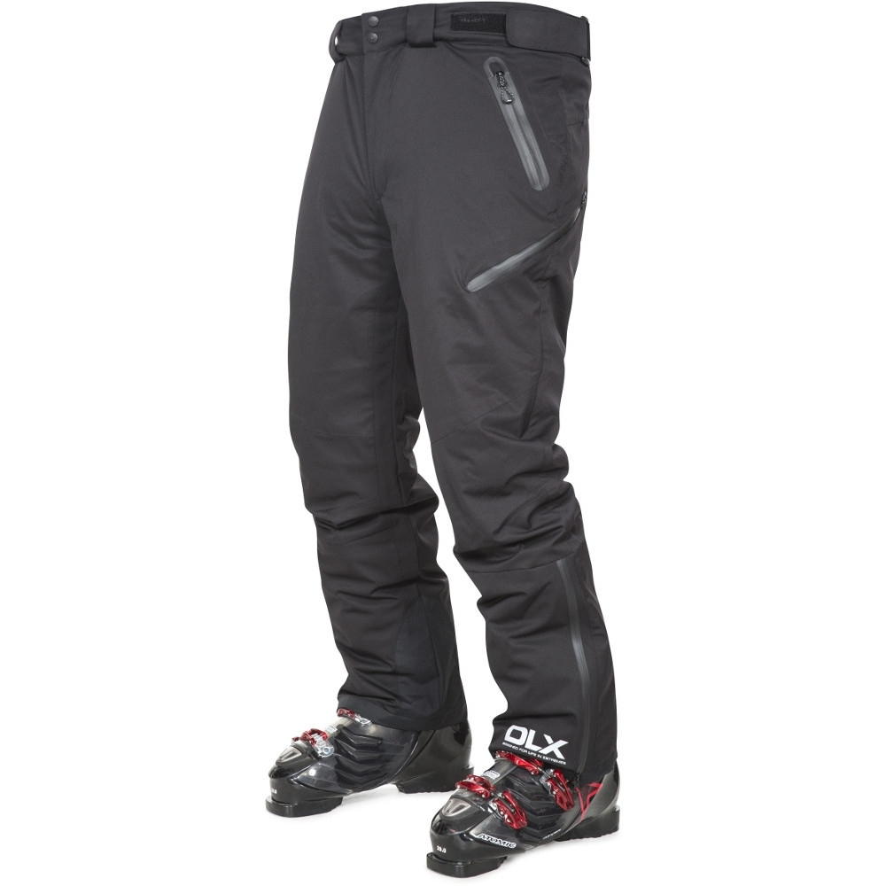 Trespass Mens Kristoff Waterproof Windproof Insulated Skiing Trousers M - Waist 33-35 (84-89cm)