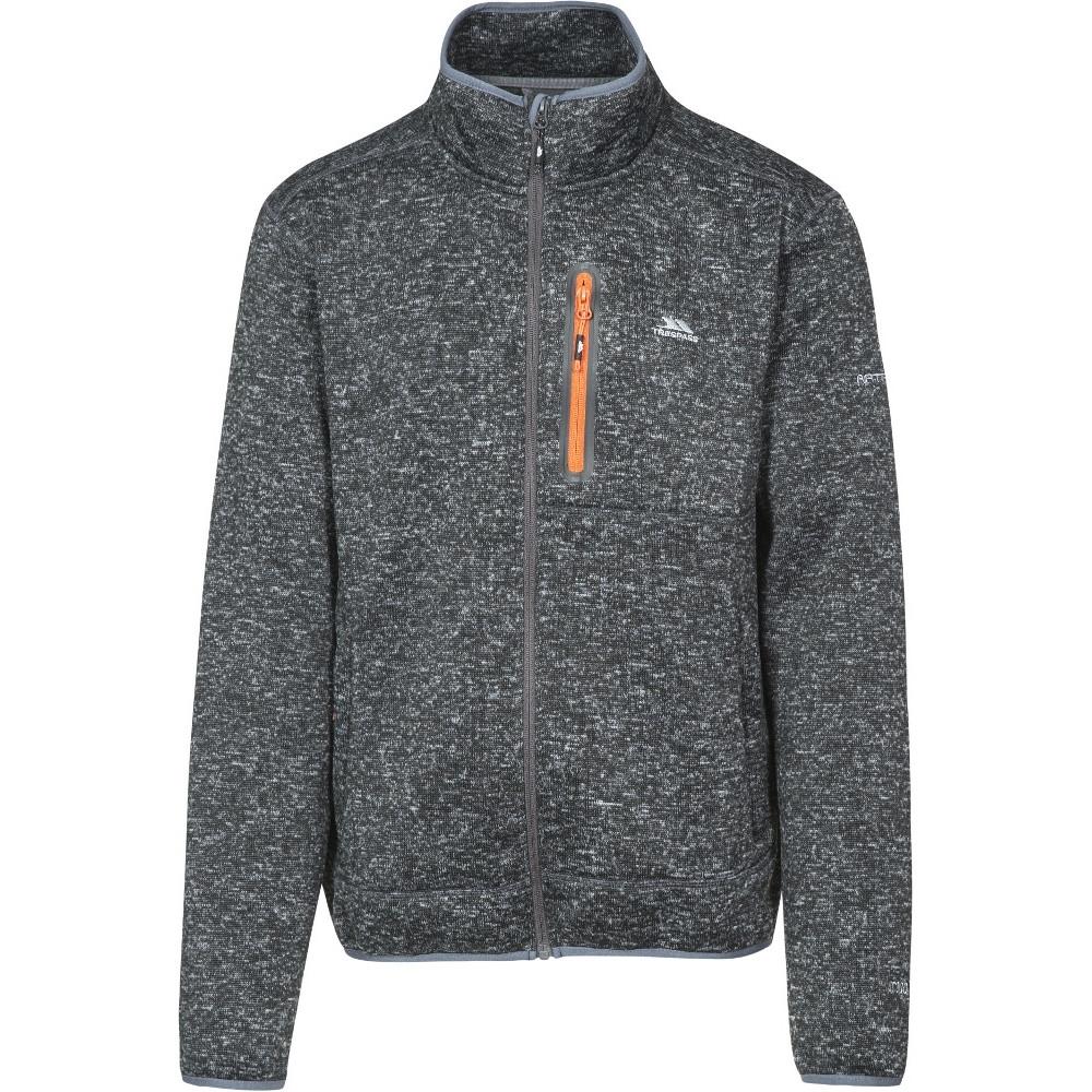 Trespass Mens Bingham Full Zip Polyester Walking Fleece Jacket Xxs - Chest 29-31 (77-82cm)
